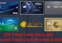 Best Credit Cards 2021