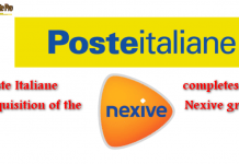 Poste Italiane completes the acquisition of the Nexive group