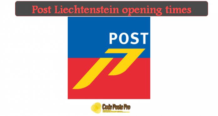 Post Liechtenstein opening times