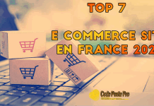 top site e commerce France