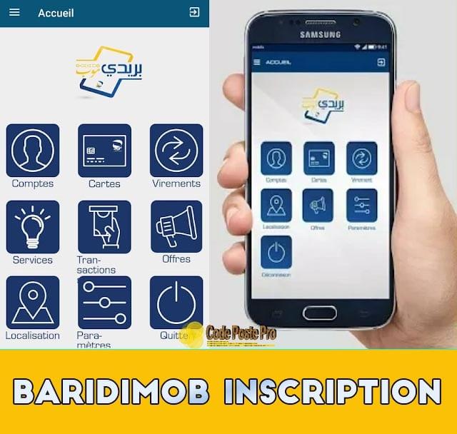 inscription baridimob